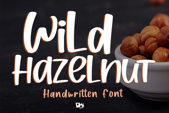 Print on Demand: Wild Hazelnut Script & Handwritten Font By dmletter31