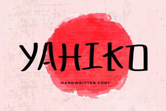 Print on Demand: Yahiko Sans Serif Font By formatikastd