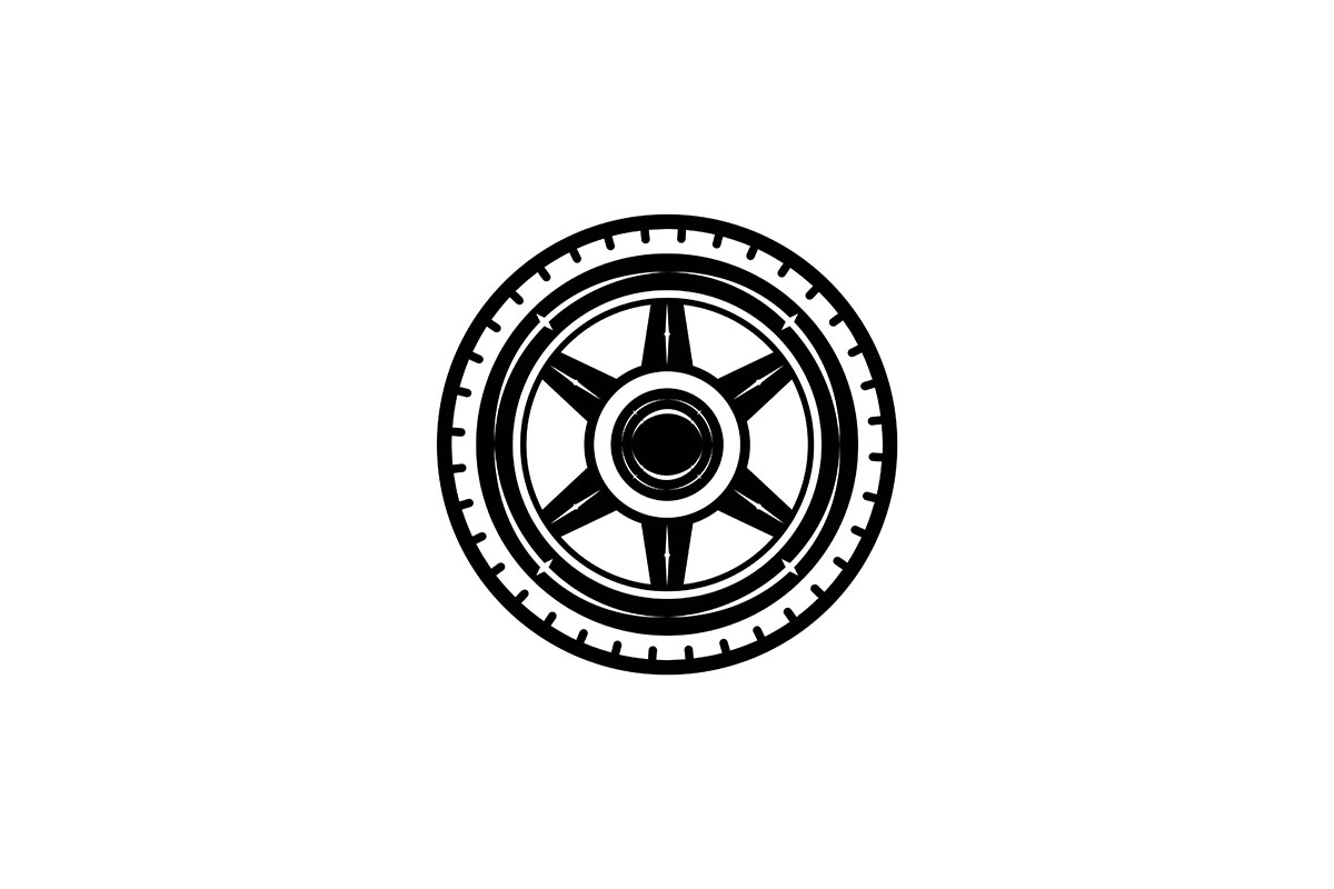 Download Free Tire Logo Ideas Inspiration Logo Design Graphic By for Cricut Explore, Silhouette and other cutting machines.