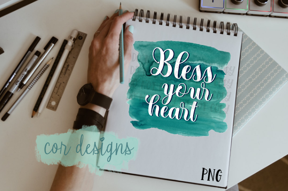 Bless Your Heart Graphic By Designscor Creative Fabrica