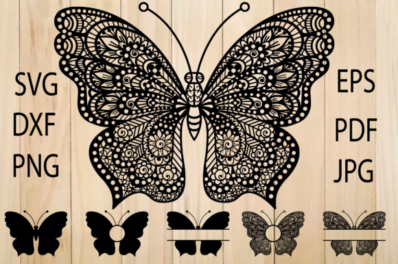 Print on Demand: Butterfly Graphic Crafts By yulnniya