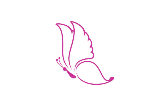 Butterfly Logo Graphic Logos By skyacegraphic0220
