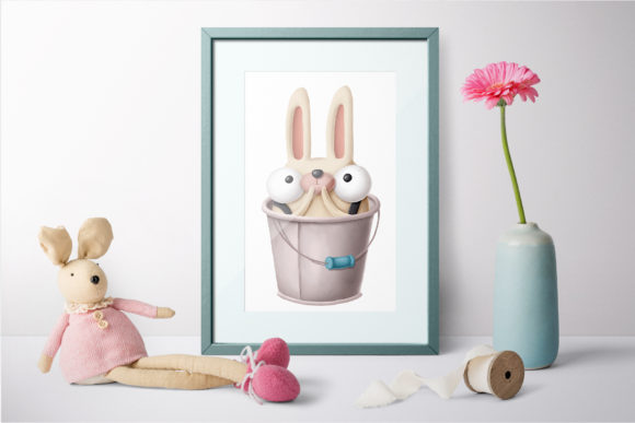Print on Demand: Collection of Rabbits Graphic Illustrations By Architekt_AT - Image 6