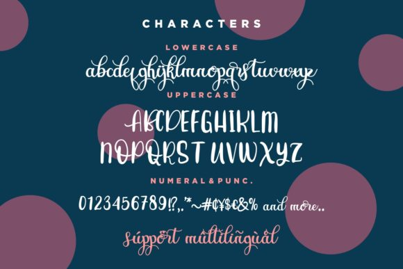 Print on Demand: Craft Lovers Script & Handwritten Font By HansCo - Image 5