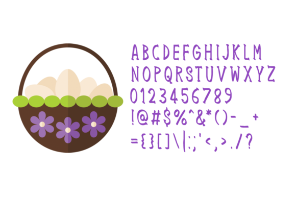 Easter Sunday Font Preview
