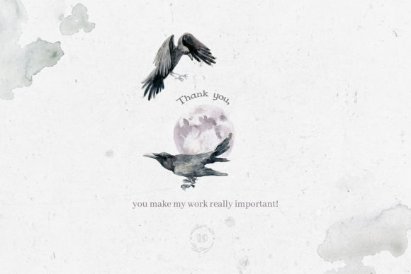 Print on Demand: Gloomy Fairytale Graphic Collection Graphic Objects By dinkoobraz - Image 14