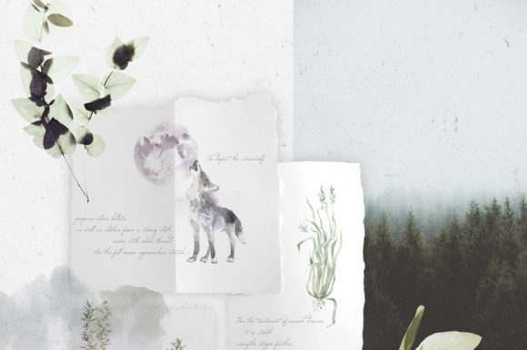 Print on Demand: Gloomy Fairytale Graphic Collection Graphic Objects By dinkoobraz - Image 2