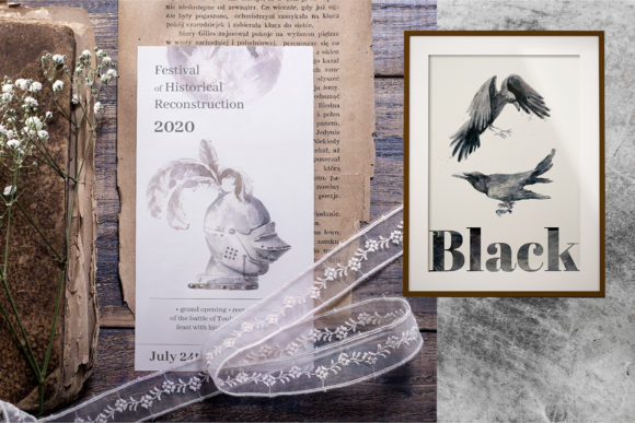 Print on Demand: Gloomy Fairytale Graphic Collection Graphic Objects By dinkoobraz - Image 3
