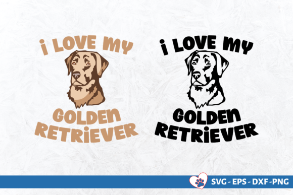 I Love My Dog Bundle Graphic Crafts By Graphipedia - Image 4