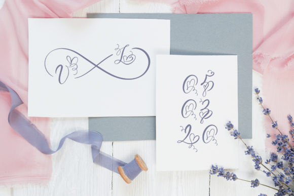 Print on Demand: Initial Valentine Script & Handwritten Font By Happy Letters - Image 2