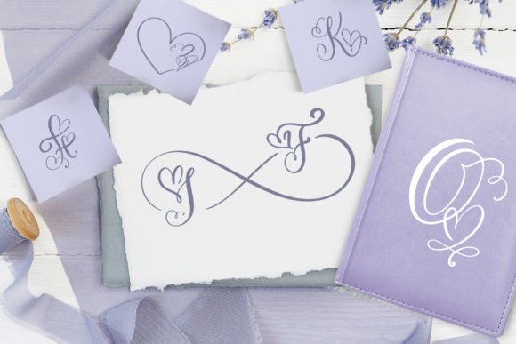 Print on Demand: Initial Valentine Script & Handwritten Font By Happy Letters - Image 6