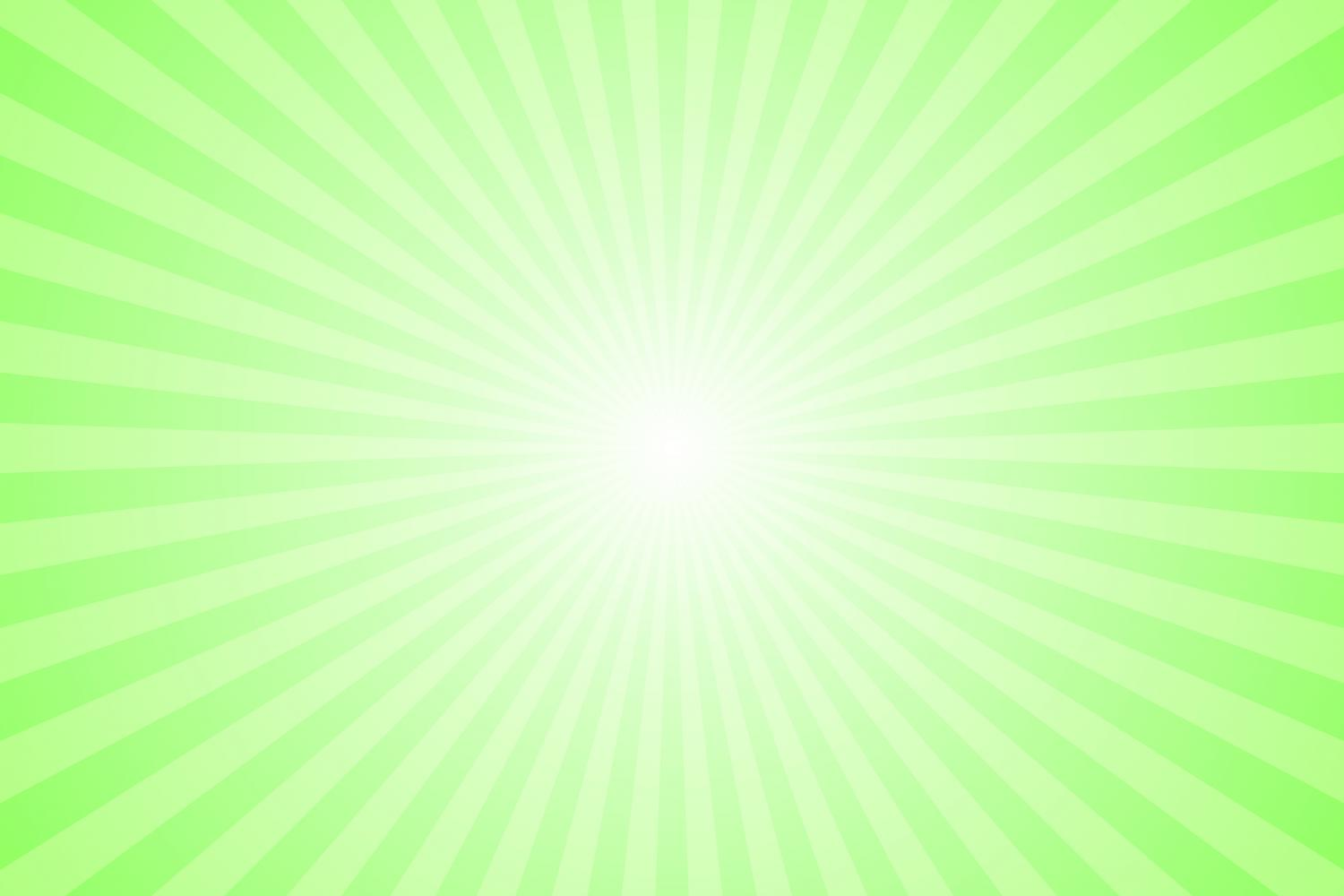 Download Free Light Green Ray Burst Background Graphic By Davidzydd Creative for Cricut Explore, Silhouette and other cutting machines.