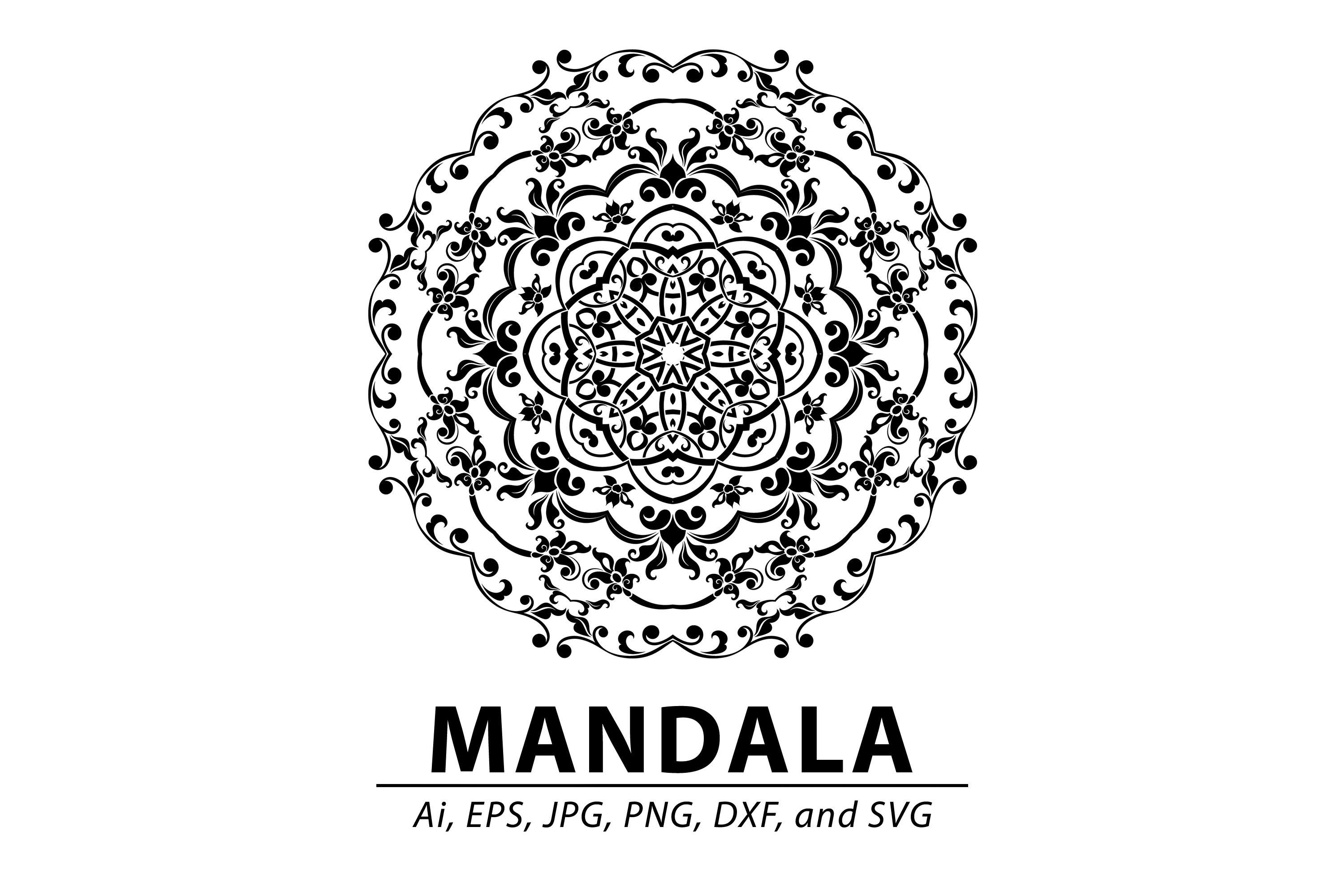 Mandala Graphic By Redsugardesign Creative Fabrica