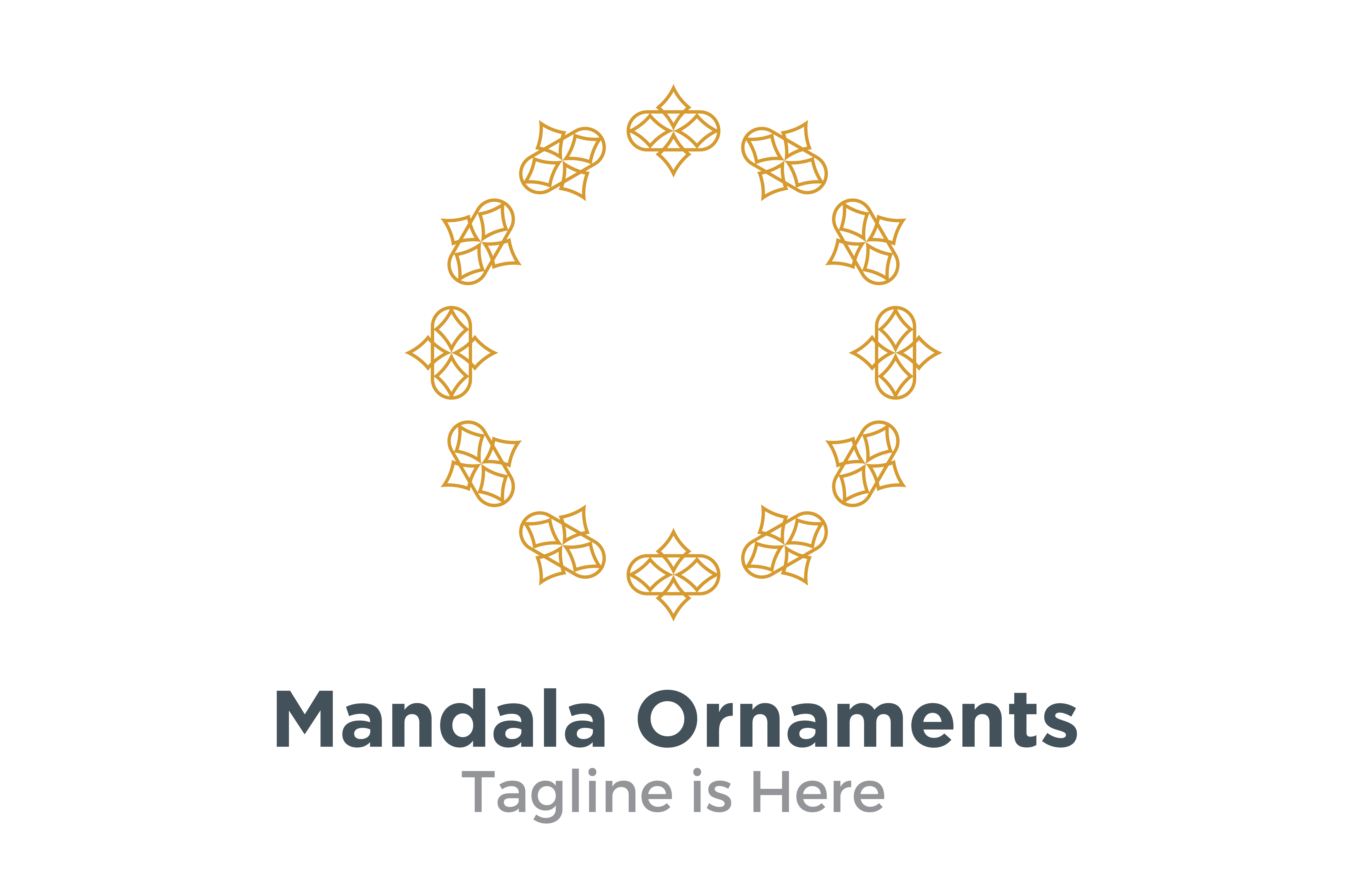 Download Free Mandala Ornaments Geometric Graphic By Acongraphic Creative for Cricut Explore, Silhouette and other cutting machines.