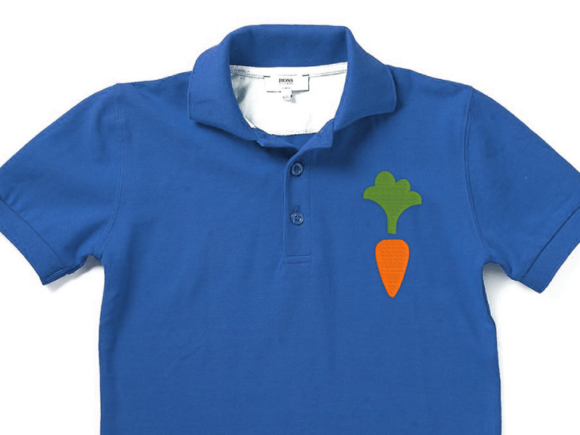 Mini Carrot Easter Embroidery Design By DesignedByGeeks - Image 1