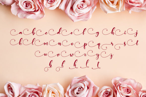 Print on Demand: Monieta Script & Handwritten Font By almarkhatype - Image 11