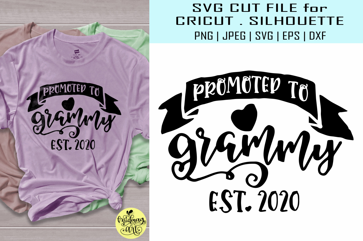 Download Free Promoted To Grammy Graphic By Midmagart Creative Fabrica for Cricut Explore, Silhouette and other cutting machines.