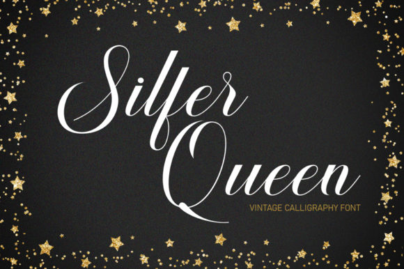 Print on Demand: Silfer Queen Script & Handwritten Font By softcreative50