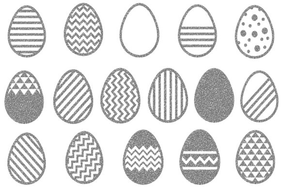 Download Free Silver Easter Egg Clipart Easter Clipar Graphic By Bonadesigns for Cricut Explore, Silhouette and other cutting machines.