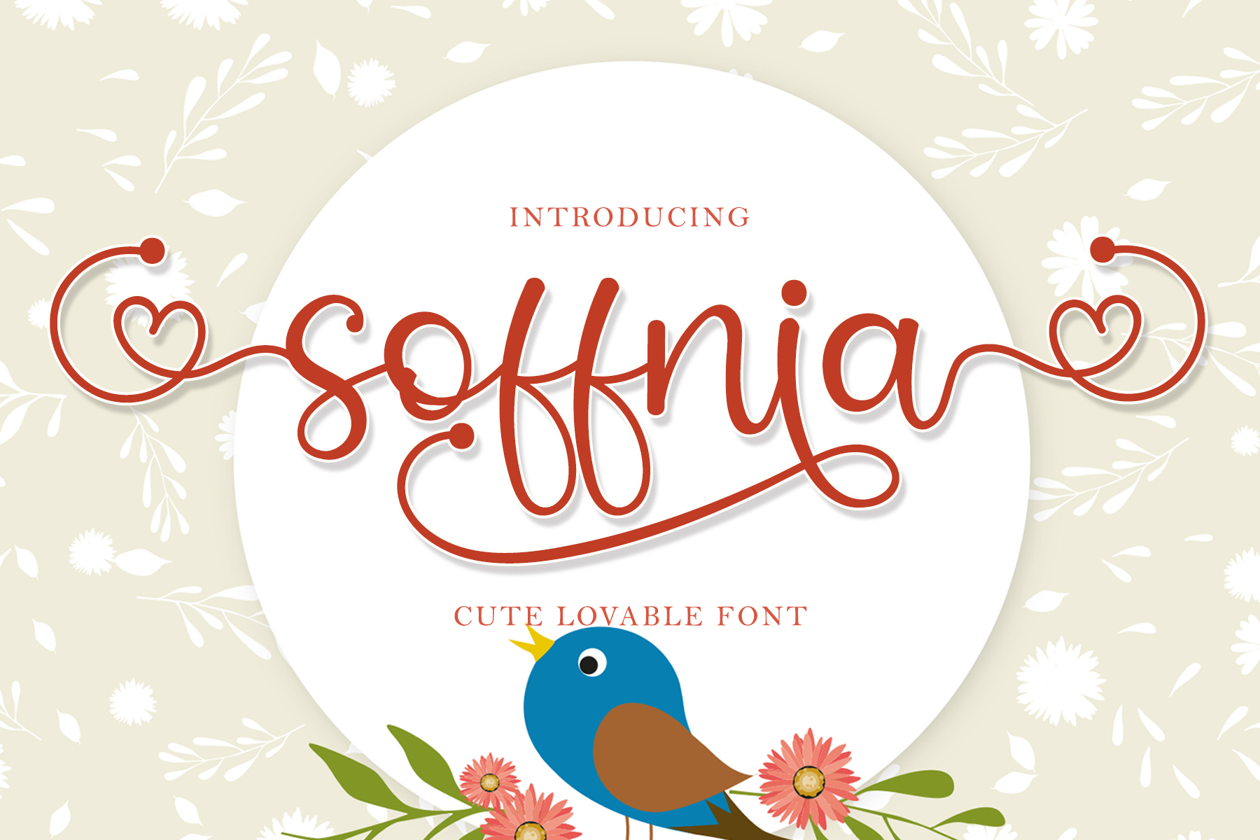 Download Free Soffnia Font By Airotype Creative Fabrica for Cricut Explore, Silhouette and other cutting machines.