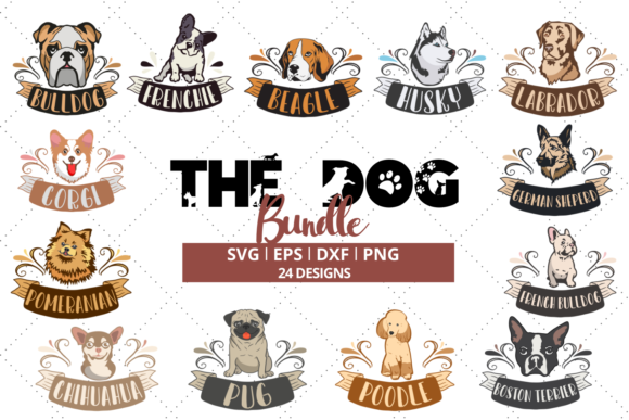 The Dog Bundle Gráfico Crafts Por Graphipedia