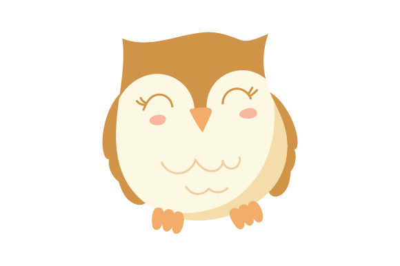 Owl Kawaii Design Diseños y Dibujos Archivo de Corte Craft Por Creative Fabrica Crafts