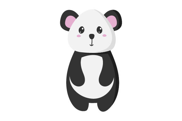 Panda Kawaii Design Diseños y Dibujos Archivo de Corte Craft Por Creative Fabrica Crafts