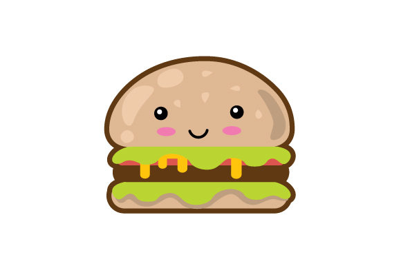 Download Free Burger Kawaii Design Svg Cut File By Creative Fabrica Crafts for Cricut Explore, Silhouette and other cutting machines.