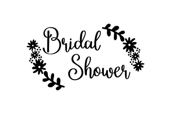 Download Free Bridal Shower Flowers Svg Cut File By Creative Fabrica Crafts for Cricut Explore, Silhouette and other cutting machines.