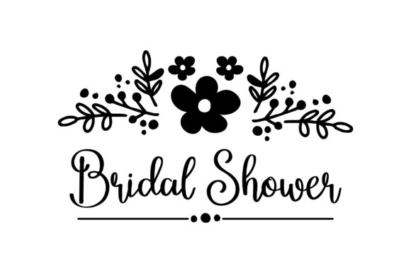 Bridal Shower Design Wedding Craft Cut File By Creative Fabrica Crafts - Image 2