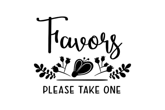 Favors Please Take One Wedding Craft Cut File By Creative Fabrica Crafts - Image 2