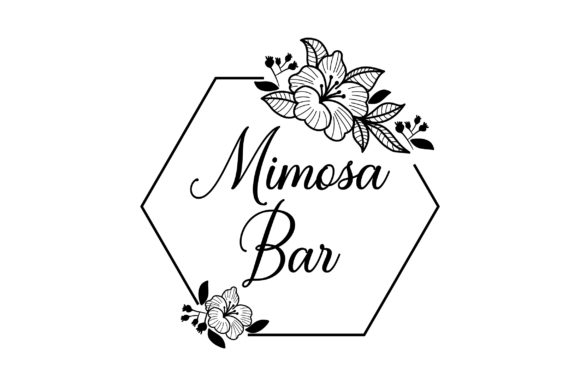 Mimosa Bar Wedding Craft Cut File By Creative Fabrica Crafts - Image 2