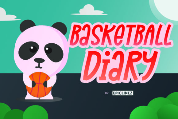 Print on Demand: Basketball Diary Display Font By Epiclinez - Image 1