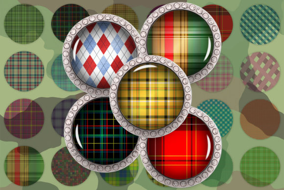 Buffalo Plaid Seamless Pattern Gráfico Crafts Por denysdigitalshop