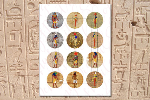 Egyptian Art Graphic By Denysdigitalshop Creative Fabrica