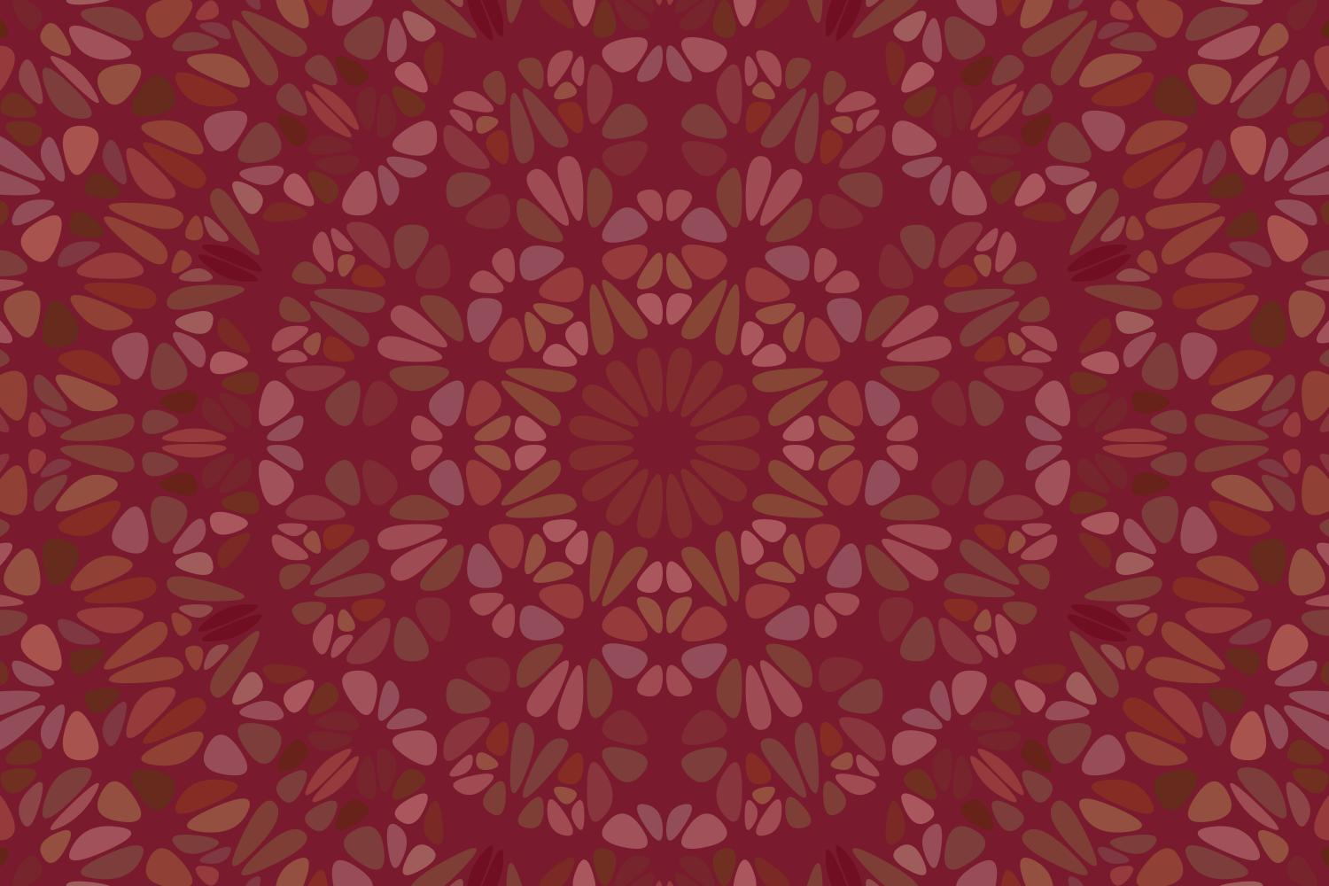 Download Free Floral Mandala Background Graphic By Davidzydd Creative Fabrica for Cricut Explore, Silhouette and other cutting machines.