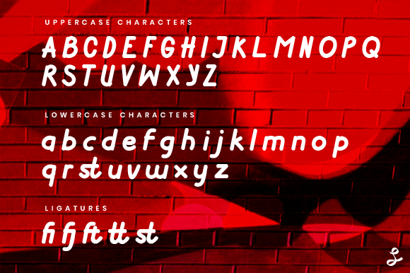 Print on Demand: Get Lucky Display Font By setyaisiam - Image 2