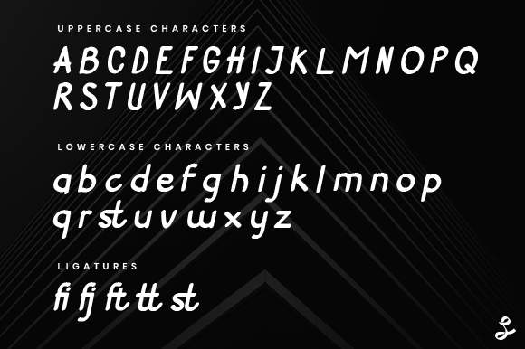 Print on Demand: Get Lucky Neue Display Font By setyaisiam - Image 3