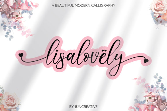 Print on Demand: Lisalovely Script & Handwritten Font By Juncreative
