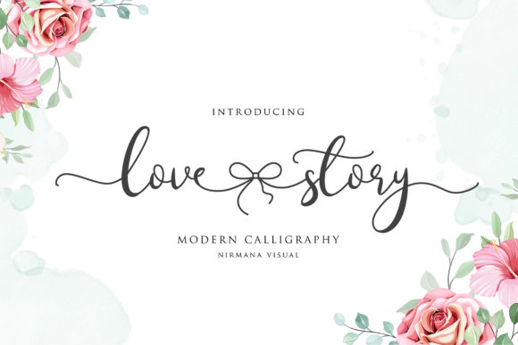 Print on Demand: Lovestory Script & Handwritten Font By Sigit Dwipa