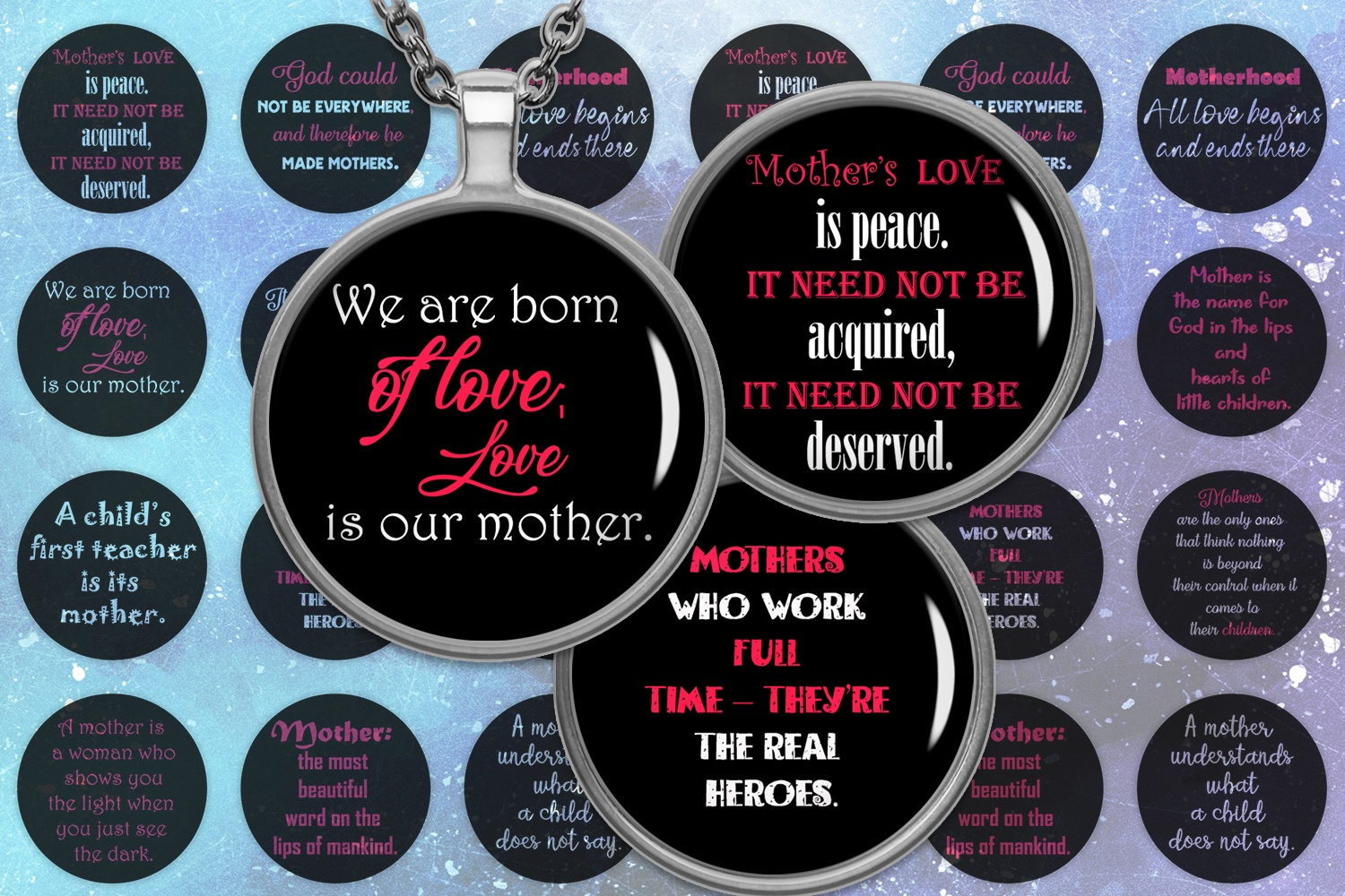 Download Free Quotes For Mother S Day Graphic By Denysdigitalshop Creative for Cricut Explore, Silhouette and other cutting machines.