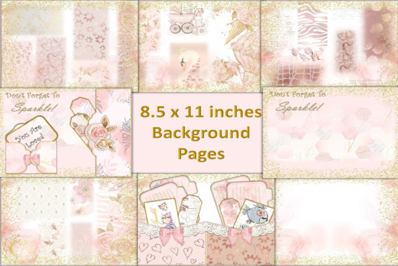 Download Free Printable Journaling Kit Ephemera Graphic By The Paper for Cricut Explore, Silhouette and other cutting machines.