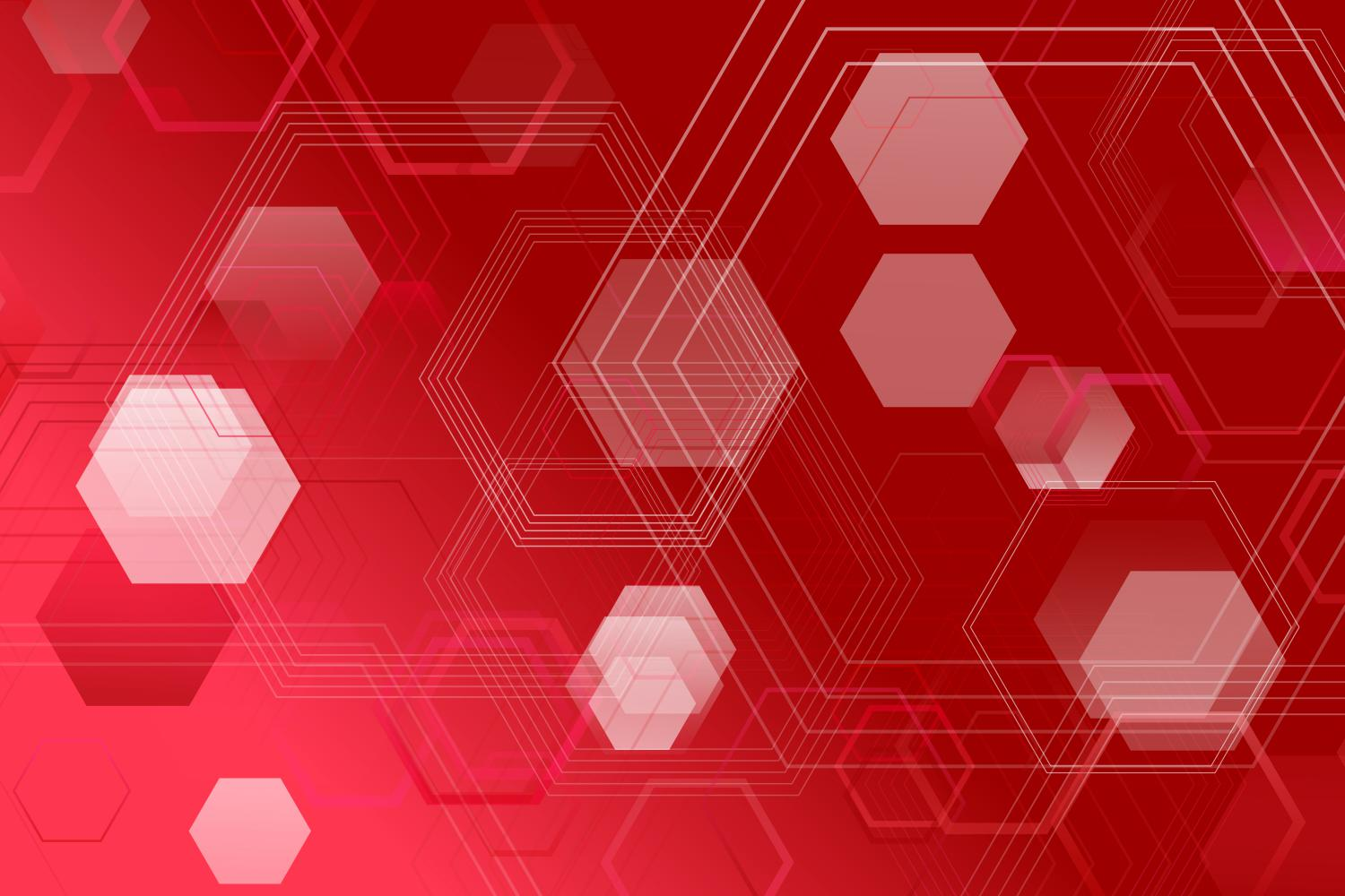 Download Free Red Website Background With Hexagons Graphic By Davidzydd SVG Cut Files