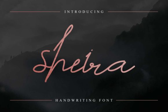 Print on Demand: Sheira Script & Handwritten Font By EdricStudio
