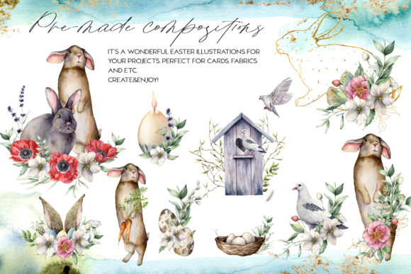 Spring Song Graphic Collection Graphic Illustrations By y.derbisheva - Image 3
