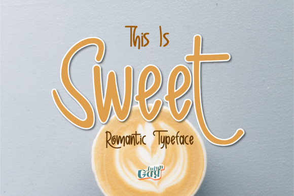 Print on Demand: Sweet Display Font By Gens Creatif Store
