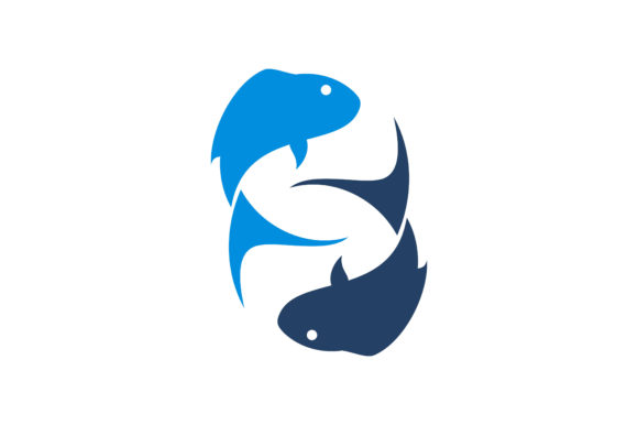 Download Free Fish Logo Graphic By Skyacegraphic0220 Creative Fabrica for Cricut Explore, Silhouette and other cutting machines.