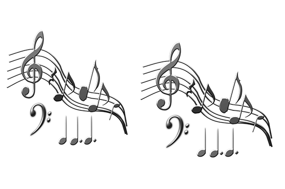 Print on Demand: Music Notes Graphic Icons By arts4busykids