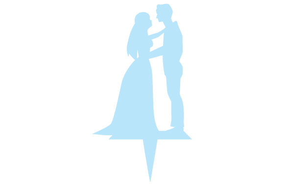 Silhouette Wedding Cake Topper Wedding Craft Cut File By Creative Fabrica Crafts