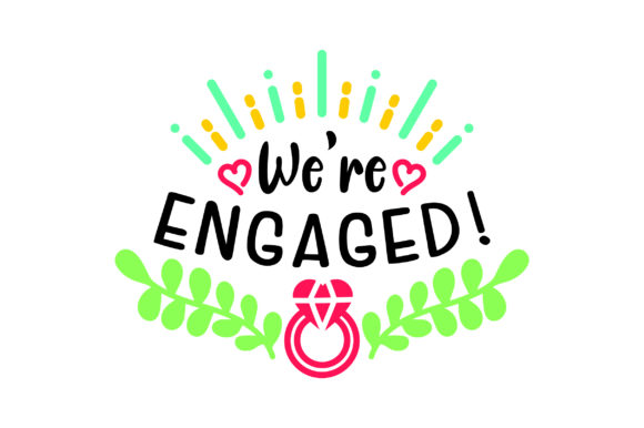 Download Free We Re Engaged Archivos De Corte Svg Por Creative Fabrica Crafts Creative Fabrica for Cricut Explore, Silhouette and other cutting machines.